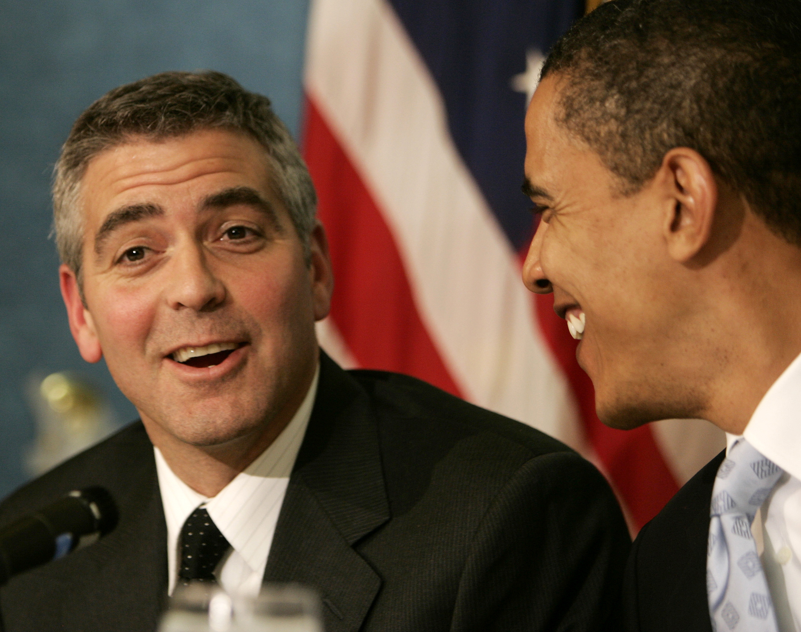 George Clooney and Steve Wynn Heated Debate Over President Obama