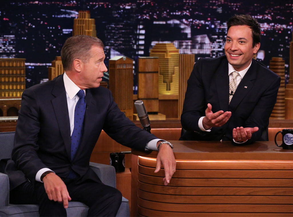 "Brian Williams Hilariously Raps ""Gin and Juice"""