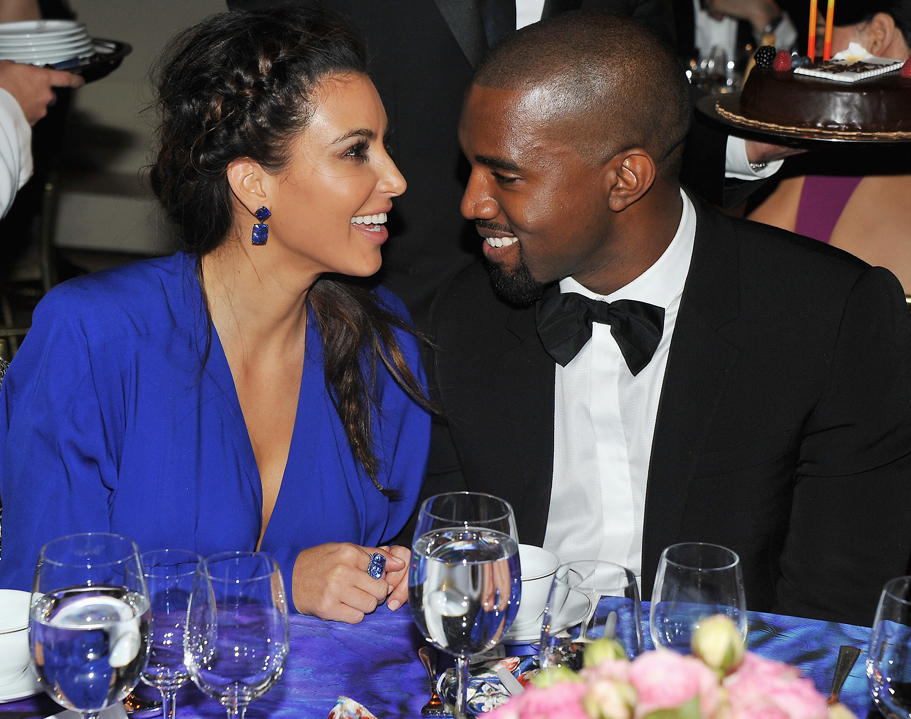 """Kanye West Discusses Interracial Relationship With Kim Kardashian At """"Budweiser Made In America"""" Philadelphia Performance"""