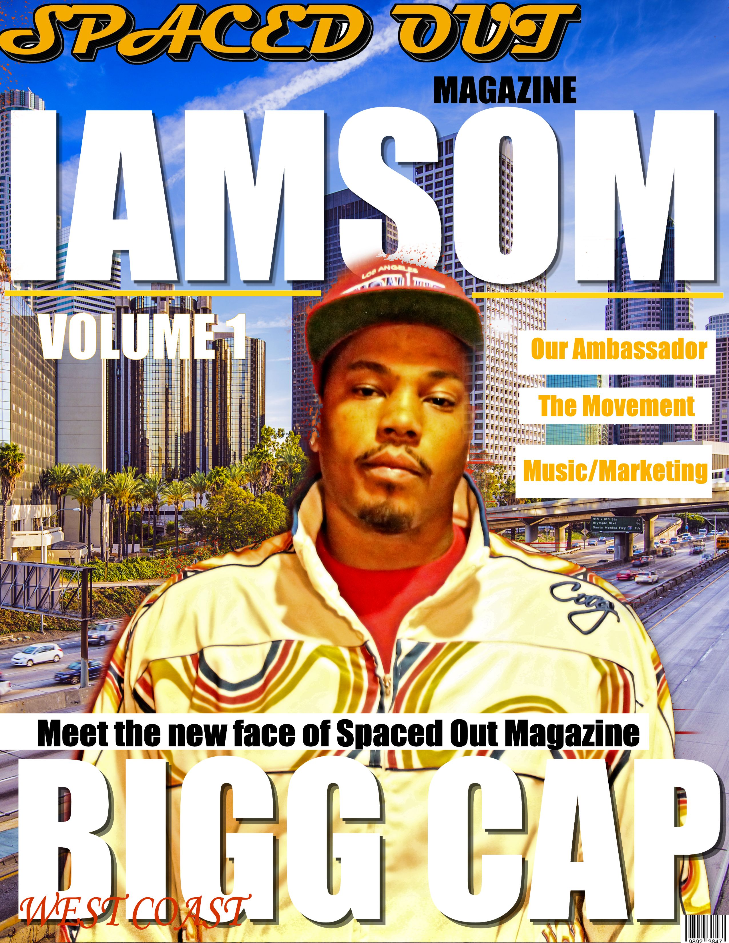 Spaced Out Magazine Announces Bigg Cap as the IAMSOM Brand Ambassador