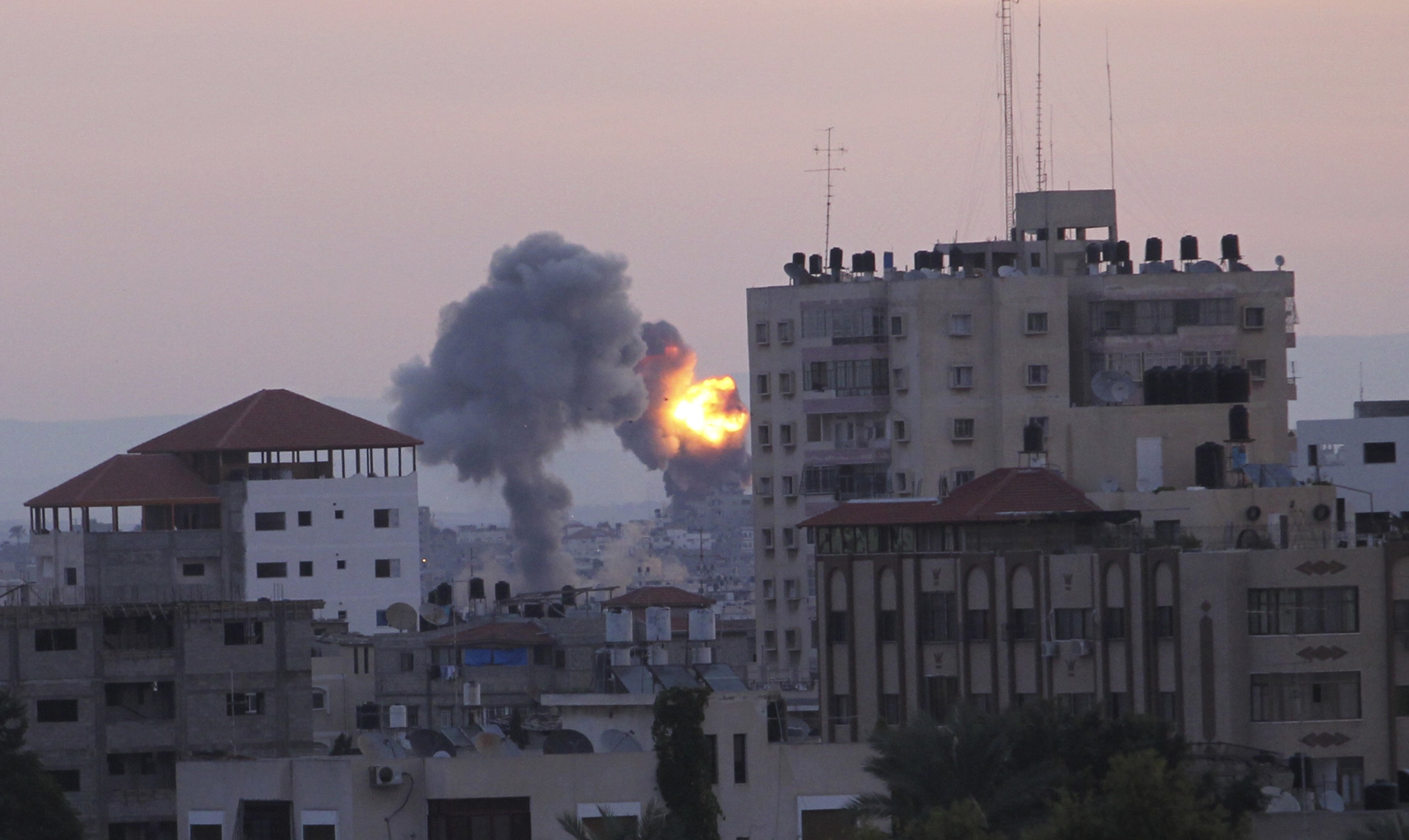 Gaza Strip: Israel Launches Ground Invasion of Gaza