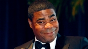 """Image: File of comedian and  actor Tracy  Morgan from the television series """"30 Rock"""" arriving at the White House Correspondents' Association dinner in Washington"""
