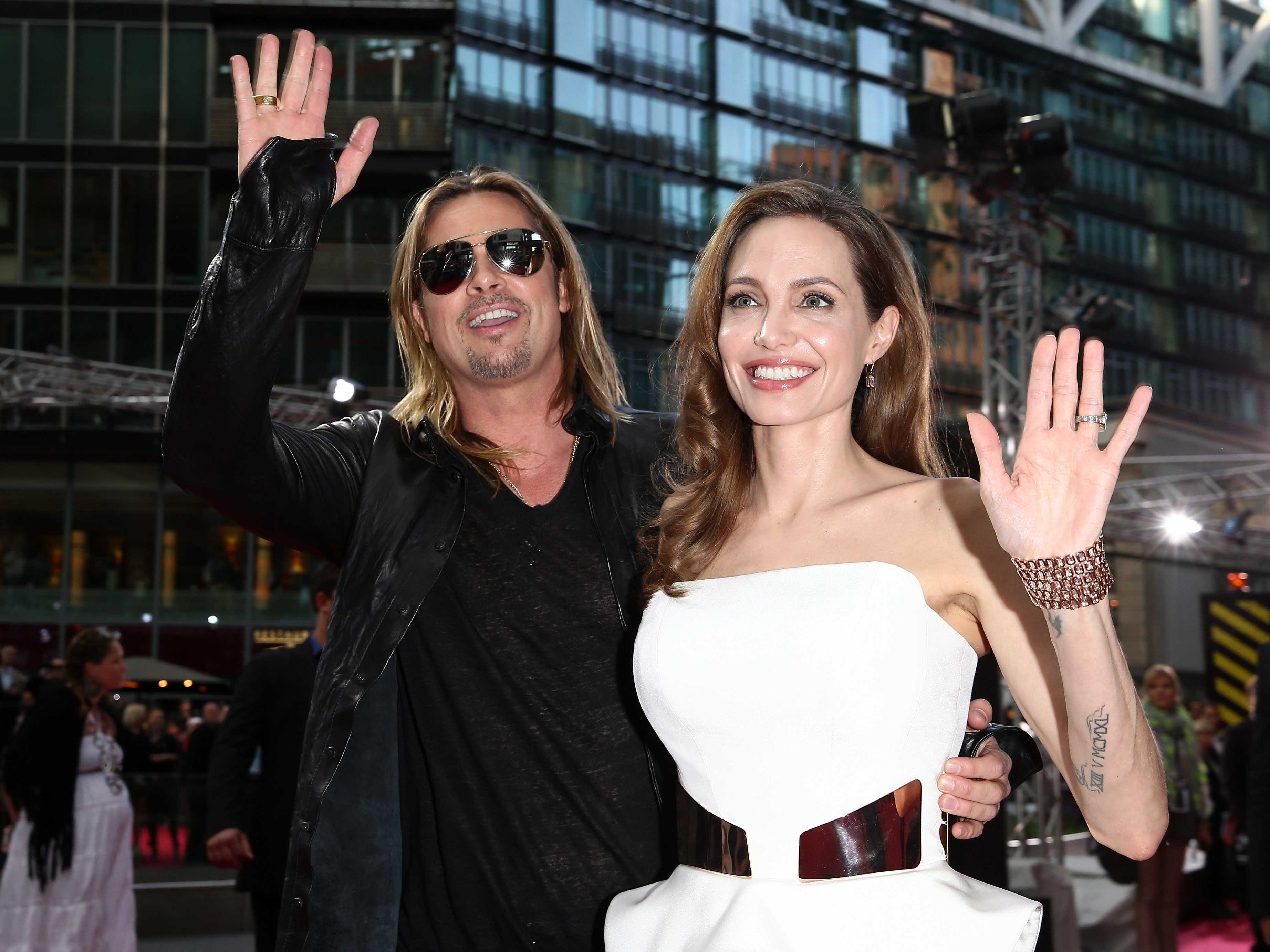 First photos of Angelina Jolie and Brad Pitt's wedding emerge