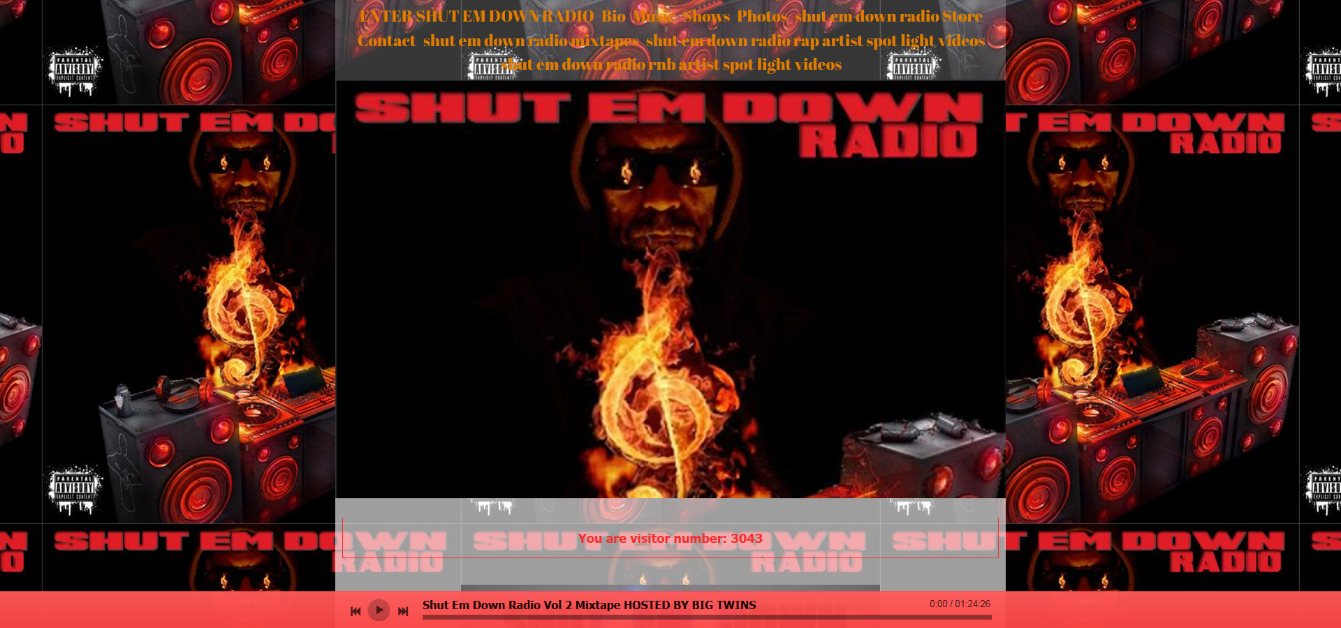 "Tune in to ""Shut Em Down Radio"" weekdays on Blogtalk Radio!"