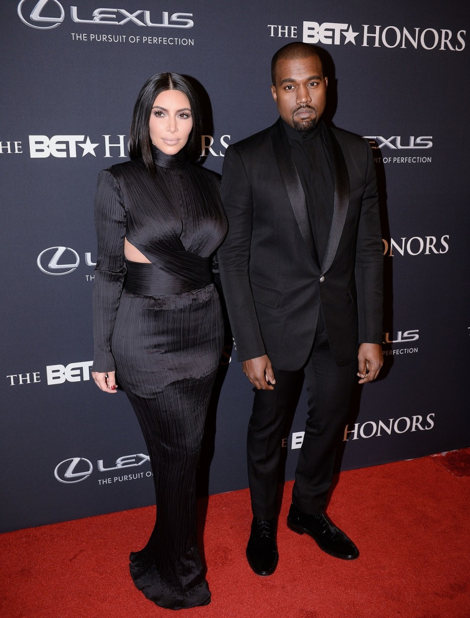 88-Kanye-West-and-Kim-Kardashians-BET-Honors-Black-Balmain-Suit-and-Custom-Gown